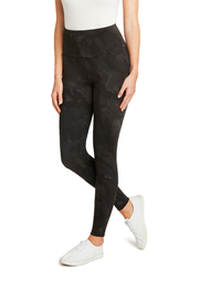 Matty M Wide Band Camo Leggings - Front cropped