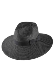 Olive & Pique Wide Brim Panama - Front cropped