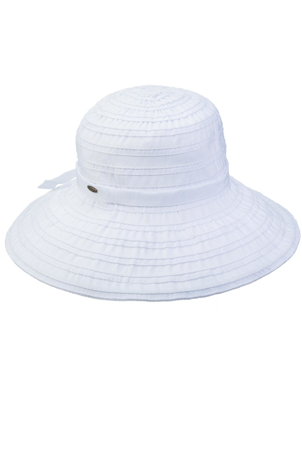 Dorfman Pacific Wide Brimmed Hat - Front Cropped Image