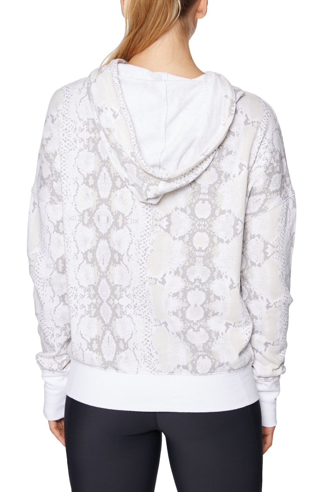 Betsey Johnson Wide Cuff Python Hoodie - Side Cropped Image