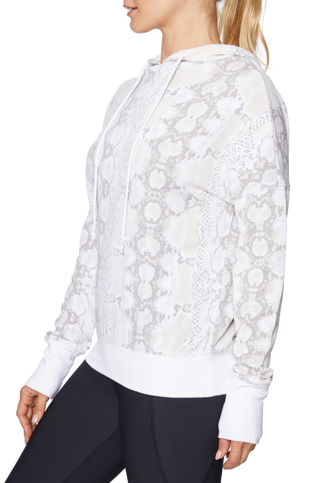 Betsey Johnson Wide Cuff Python Hoodie - Front Full Image