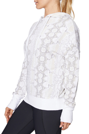 Betsey Johnson Wide Cuff Python Hoodie - Front full body