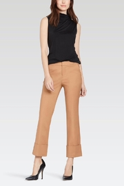 Ecru Wide Cuff Trouser - Product Mini Image