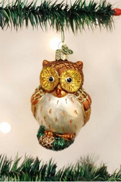 Old World Christmas Wide Eyed Owl - Alternate List Image