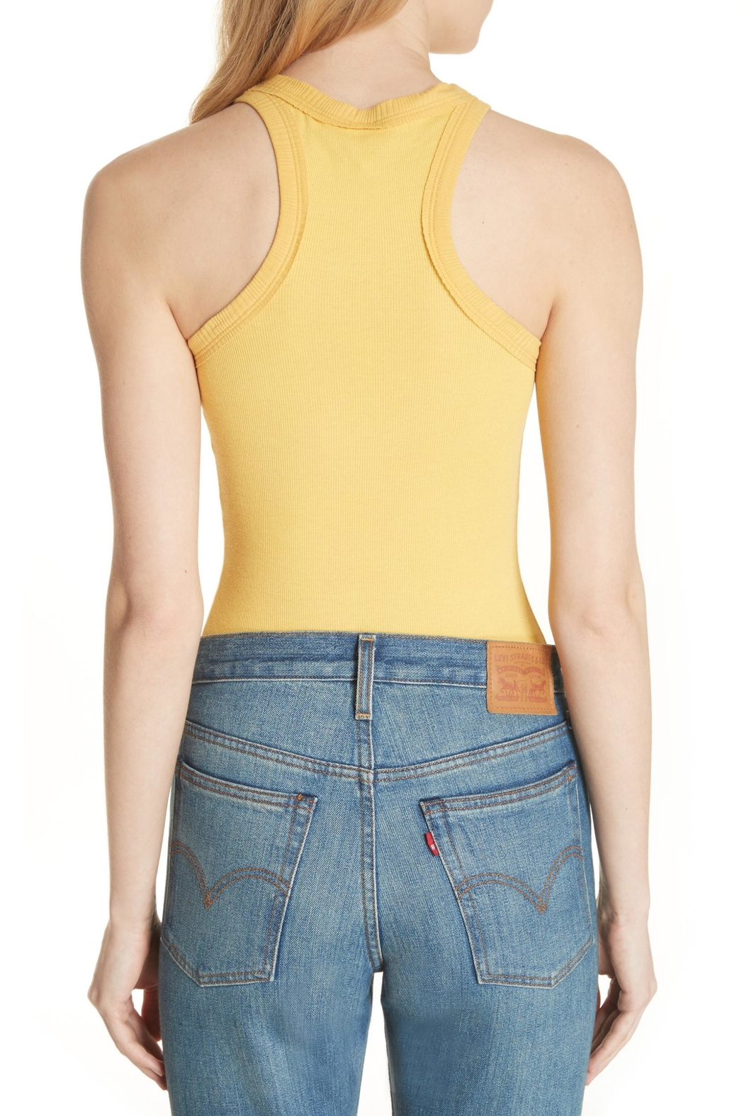 Free People Wide-Eyed Racerback Tank - Side Cropped Image