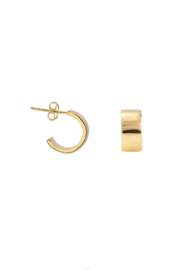 Kris Nations Wide Huggie Hoop Earring - Product Mini Image