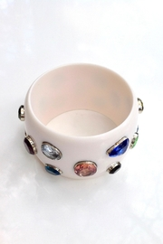 GHome2 Wide Jeweled Bangle - Other