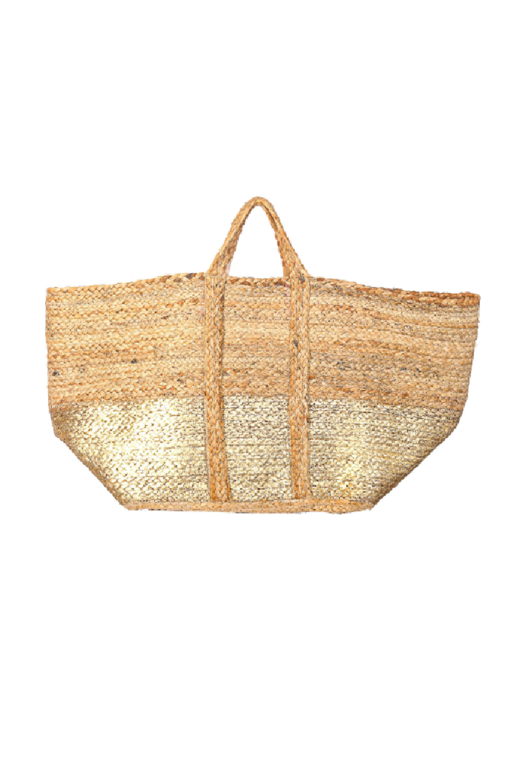 Fame Accessories Wide Jute Tote - Main Image