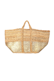 Fame Accessories Wide Jute Tote - Product Mini Image