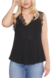 Lyn -Maree's Wide Lace Tank - Product Mini Image