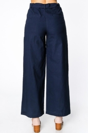 Everly Wide-Leg Belted Pants - Back cropped