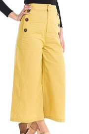 Do & Be Wide-Leg Button Pants - Front full body