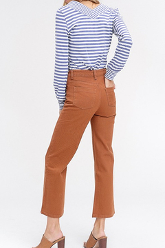 Listicle Wide Leg Capri Pants - Product List Image