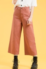 day by day Wide-Leg Crop - Back cropped