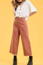 day by day Wide-Leg Crop - Front cropped