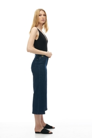Yoga Jeans Wide Leg Crop - Front full body