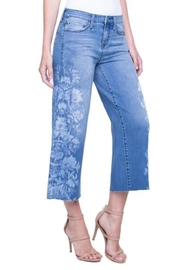 Liverpool Jean Company Wide-Leg Crop - Product Mini Image