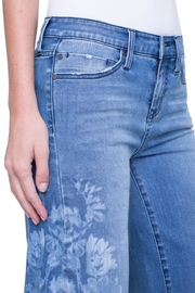 Liverpool Jean Company Wide-Leg Crop - Front full body