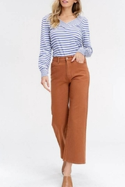 Listicle Wide-Leg Crop Pant - Product Mini Image