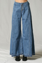 By Together Wide-Leg Denim Pants - Product Mini Image