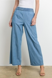 Le Lis Wide-Leg Denim Pants - Product Mini Image