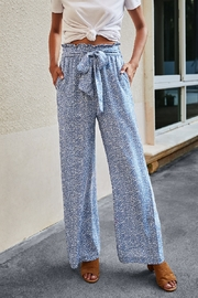 Lyn -Maree's Wide Leg Drawstring Pants - Front cropped
