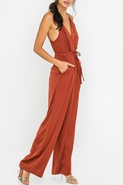 Lush Clothing  Wide-Leg Drawstring-Waist Jumpsuit - Other