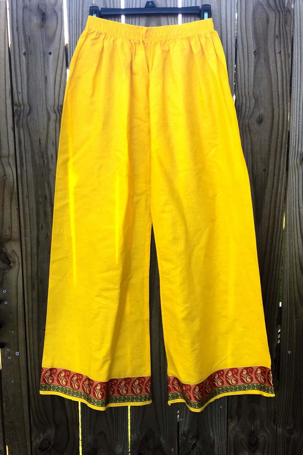 Love's Hangover Creations Wide-Leg Indian Pants - Main Image