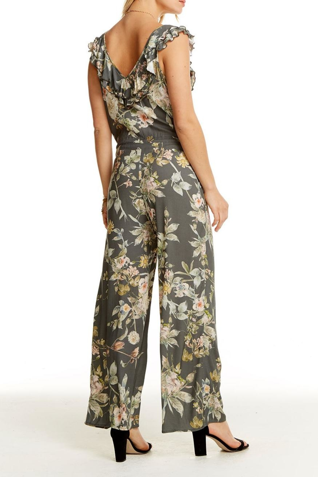 Chaser Wide Leg Jumpsuit - Side Cropped Image