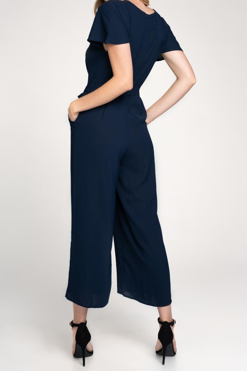 Made by Mila Wide Leg Jumpsuit - Side Cropped Image