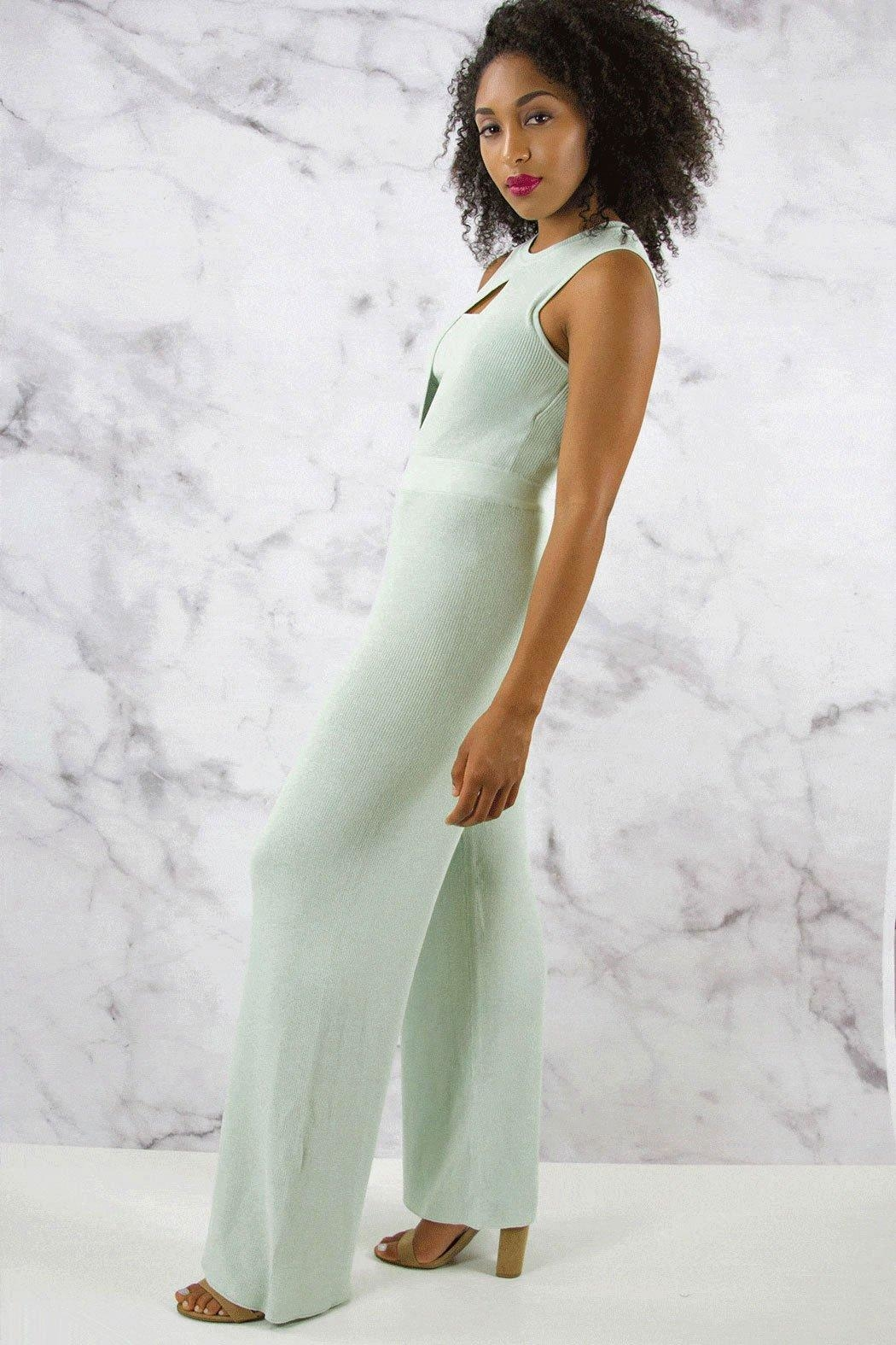 Rehab Wide Leg Jumpsuit - Side Cropped Image