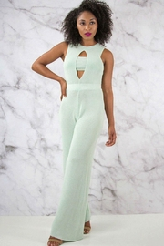 Rehab Wide Leg Jumpsuit - Back cropped