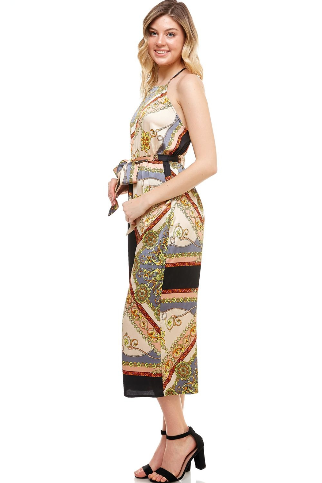 AAKAA Wide Leg Jumpsuit - Front Full Image