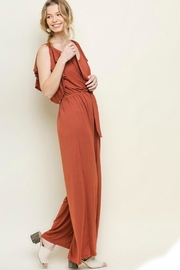 Umgee USA Wide Leg Jumpsuit - Front full body