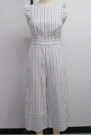 English Factory Wide Leg Jumpsuit - Product Mini Image
