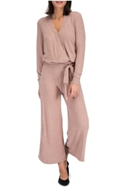 Bobeau Wide-Leg Knit Pant - Product Mini Image