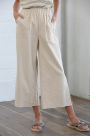 By Together Wide Leg Linen Pants - Product Mini Image