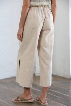 By Together Wide Leg Linen Pants - Alternate List Image