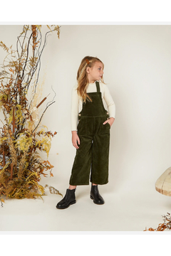 Rylee and Cru Wide Leg Overall - Forest - Alternate List Image