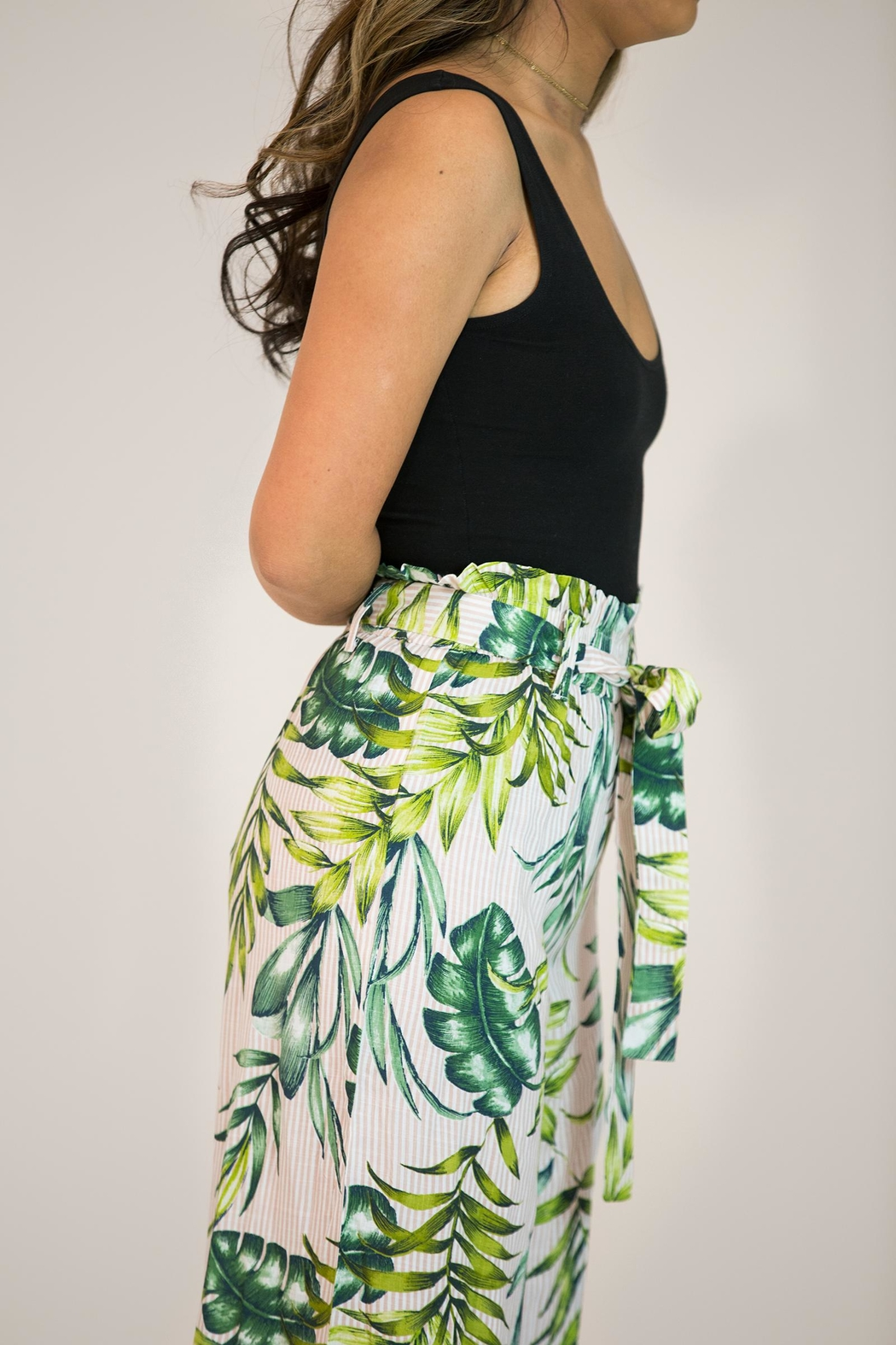Patrons of Peace Wide Leg Pant - Side Cropped Image