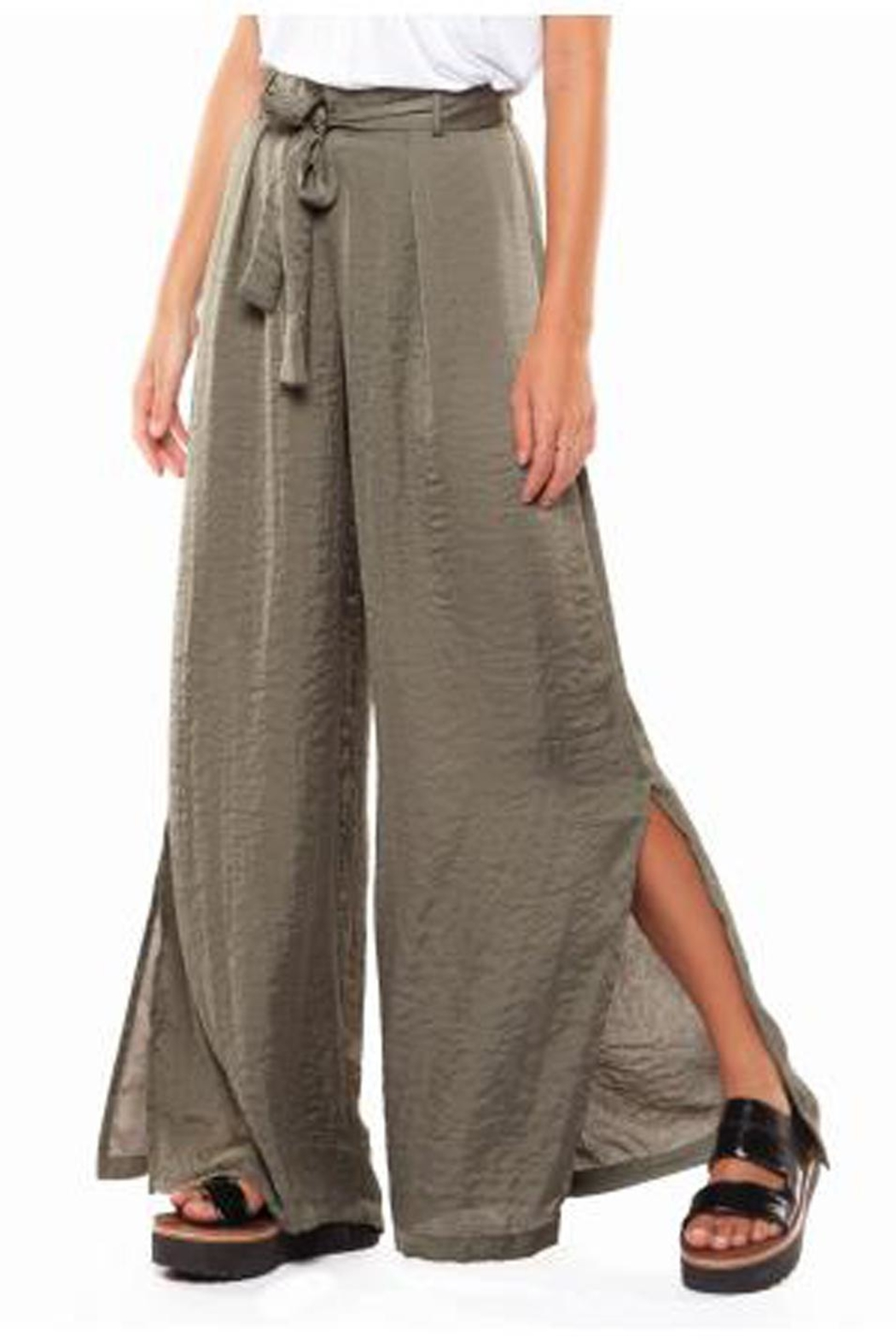 Dex Wide Leg Pant - Front Full Image