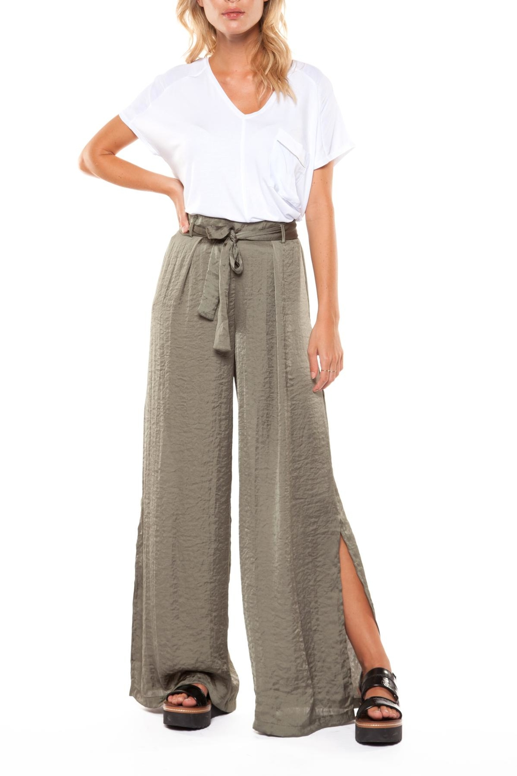 Dex Wide Leg Pant - Main Image
