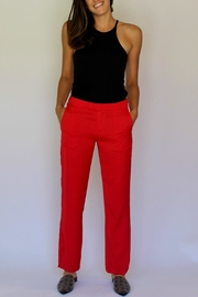 David Lerner New York Wide Leg Pant - Product Mini Image