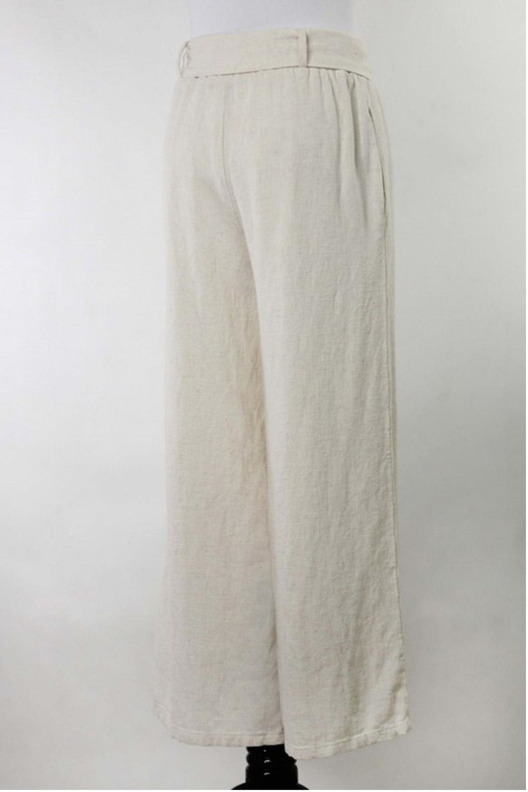 Final Touch Wide Leg Pants - Side Cropped Image