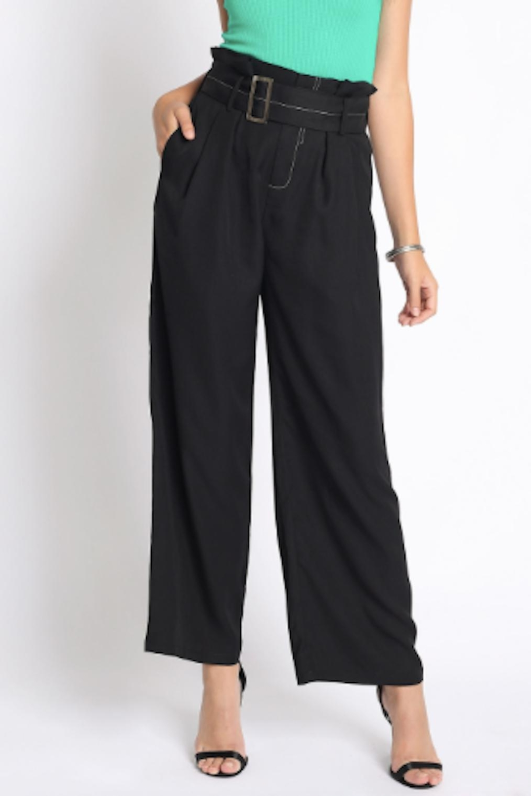TIMELESS Wide Leg Pants - Front Full Image