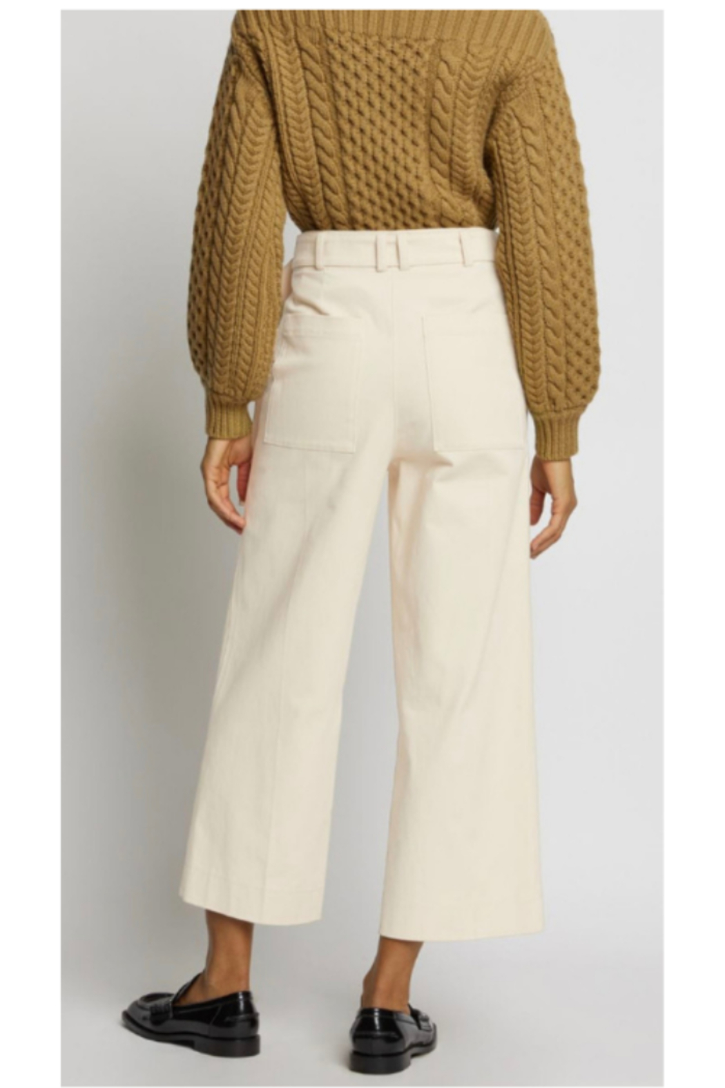 Proenza Schouler WIDE LEG PANTS - Side Cropped Image