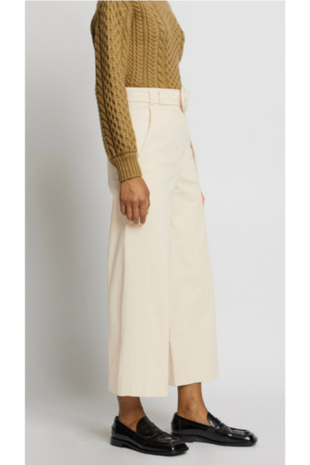Proenza Schouler WIDE LEG PANTS - Back Cropped Image