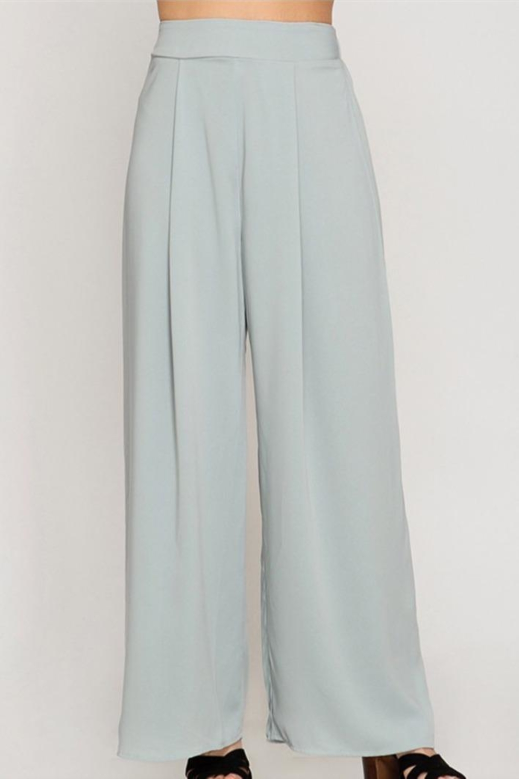 She + Sky Wide Leg Pants - Main Image