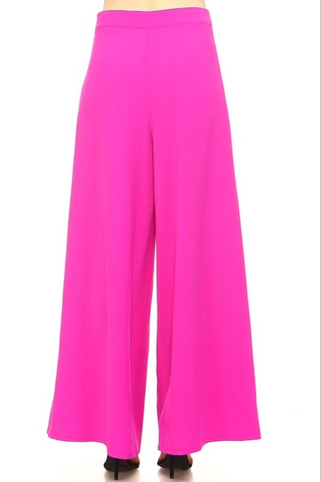 TCEC Wide Leg Pants - Side Cropped Image