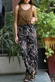 Angie Wide Leg Print - Front cropped